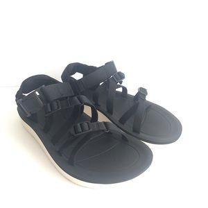 Teva Womens ALP Premier Sporty Sandal Shoes Black